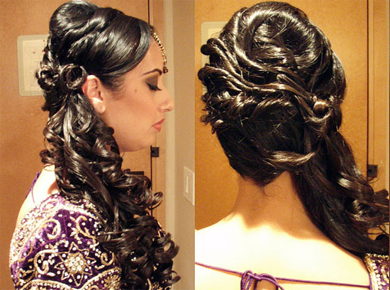 best indian bridal hairstyle 2014 � bollywood celebrities